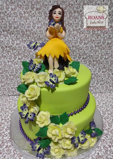 Fair Alyssa Cake by Lenny Mendoza of Roan's Bakeshop Cakes