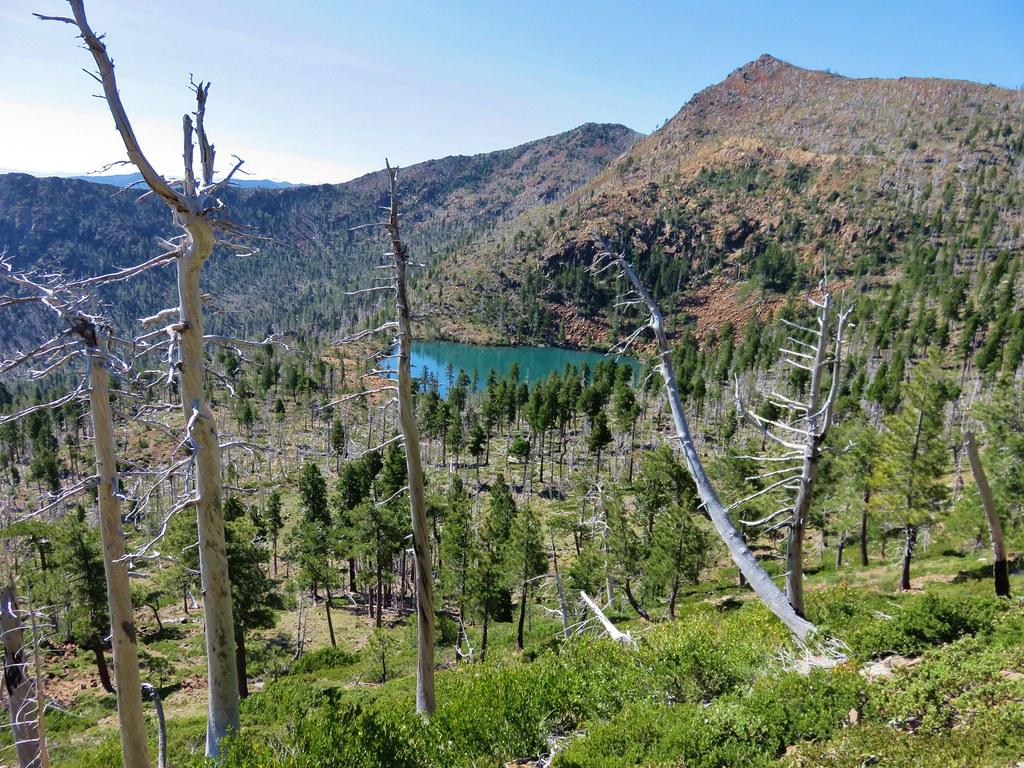 Vulcan Lake below Vulcan Peak