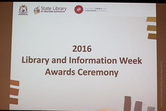 Library Board of Western Australia Awards Evening, May 2016