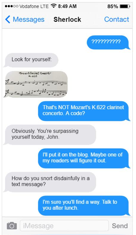 Text Convo Part 2
