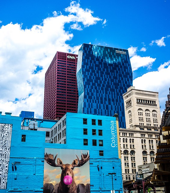 Downtown Chicago. #x100 #street #moose