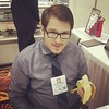 Tradeshow Pro tip: bananas always make things better.
