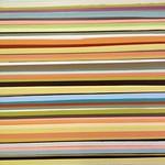 Wendi Harford - Drip Strip (detail); latex paint on canvas; 2013; 77 x 5.5