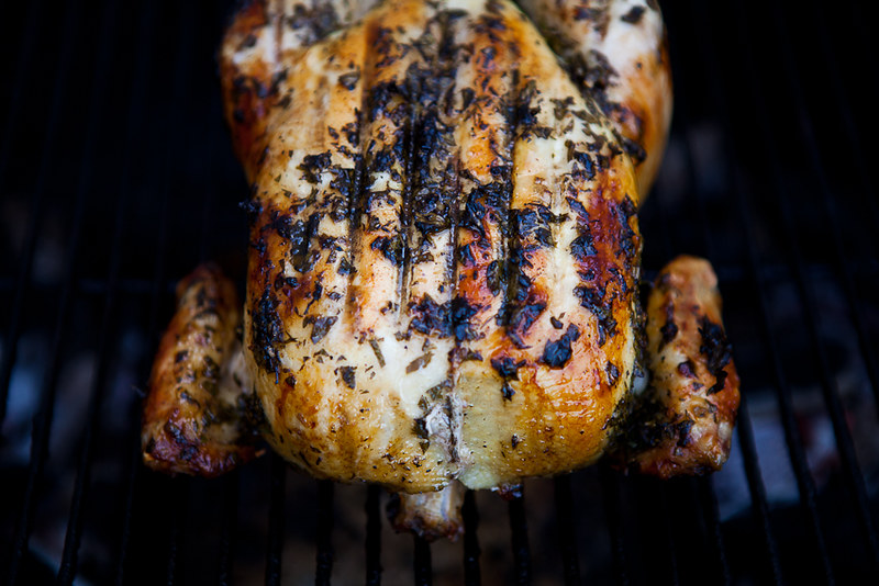 Grill-roasted Chicken