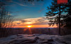 Sunset at Ledges Overlook, Pt. 2 by Kyle Krajnyak Photography
