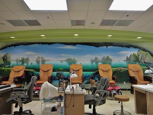 Nail salon landscape