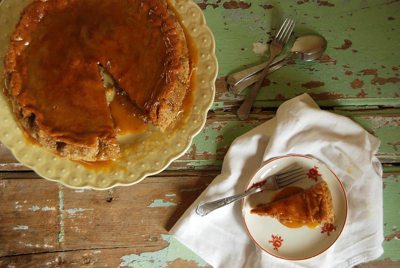 tarte de amendoa / almond tart