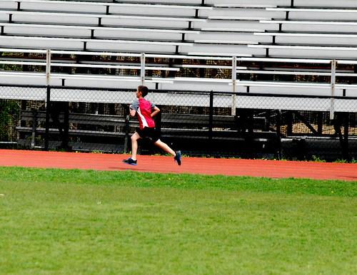Nick at track