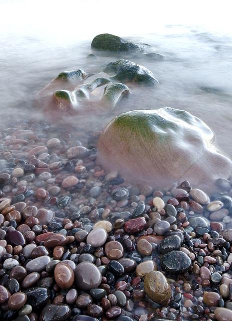 Line of Rocks