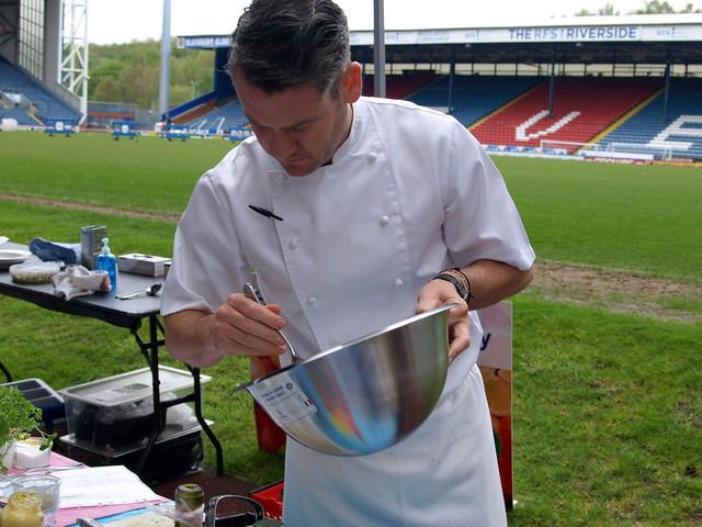 Chef Colin Mcgurran BBQ demo - 1