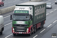 Volvo FH 6x2 Tractor - PX60 CVF - Lisa Olivia - Eddie Stobart - M1 J10 Luton - Steven Gray - IMG_3009