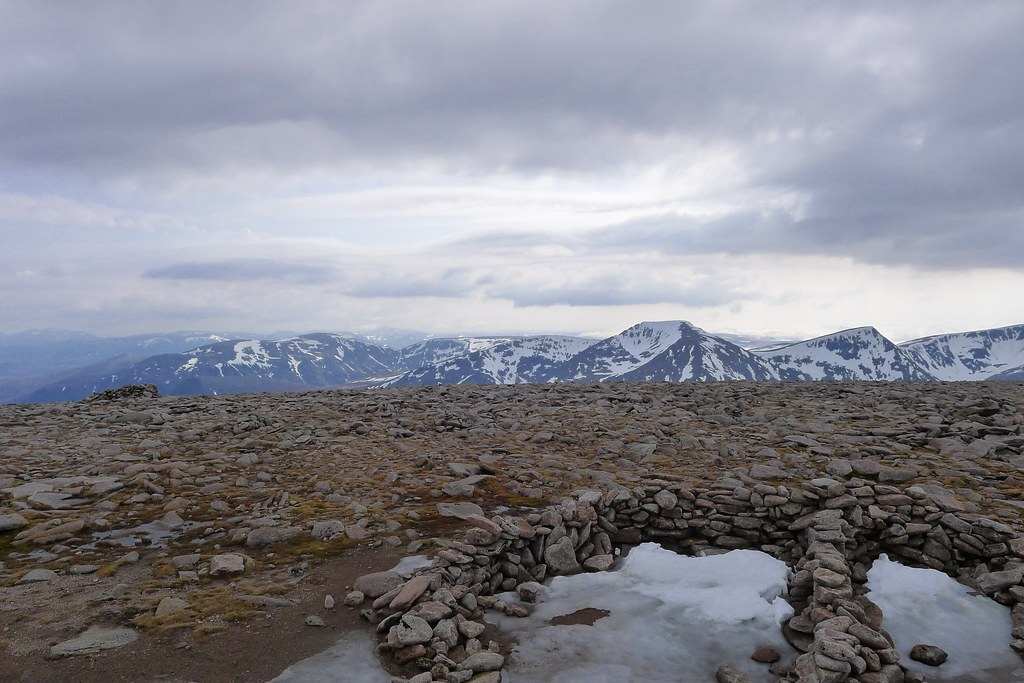 Western Cairngorms from Macdui