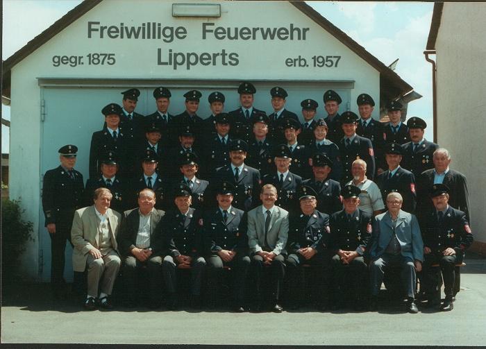 125 Jahre Freiwillige Feuerwehr Lipperts