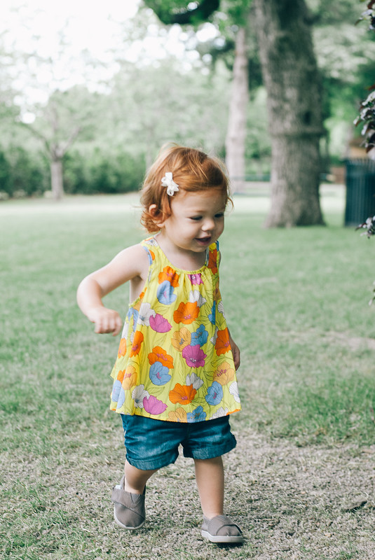 Lucy at the Arboretum