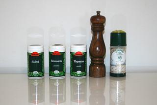 10 - Zutat Gewürze / Seasoning