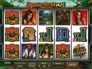 Girls with Guns - Jungle Heat Slot Machine