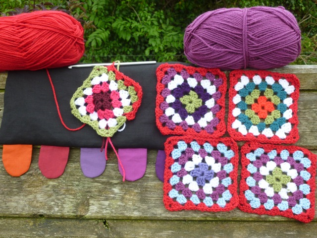 The next crochet project- granny squares