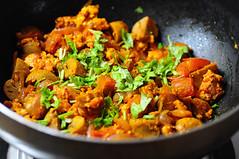 Dingri dolma mushroom paneer masala recipe awadhi cuisine for Awadhi cuisine vegetarian