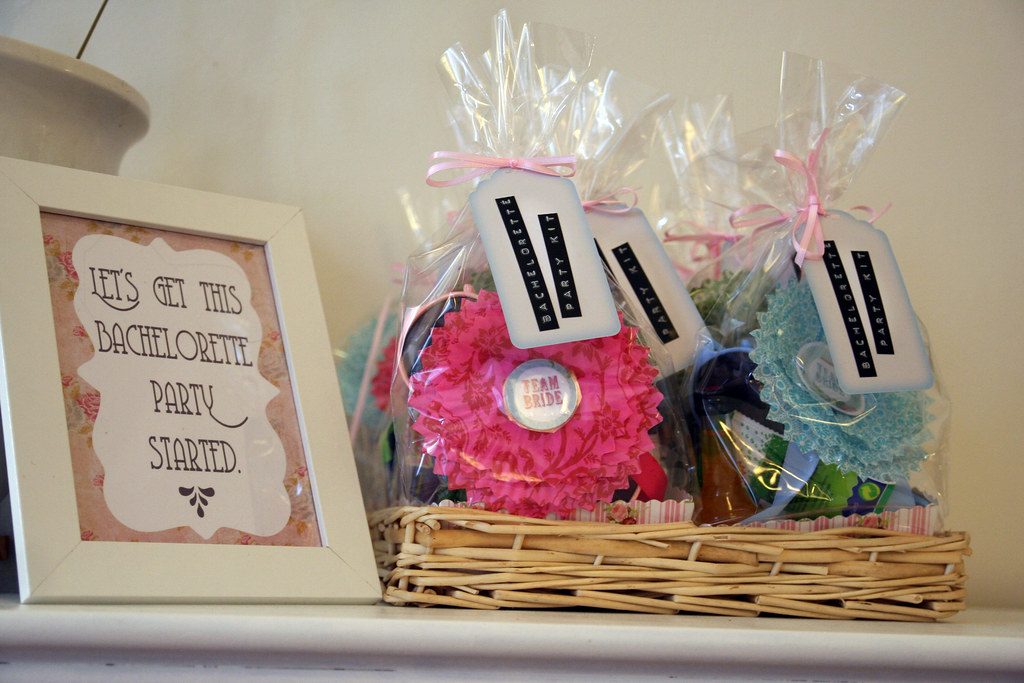 bachelorette party kit {from miss to mrs.}