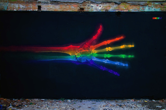 'X-Rainbow 8' (Difference)