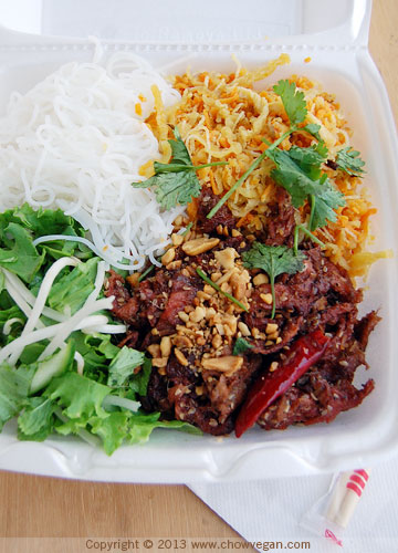 BBQ Plate with Vermicelli Noodles