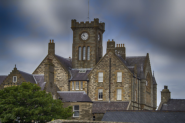 Church in Shetland Islands