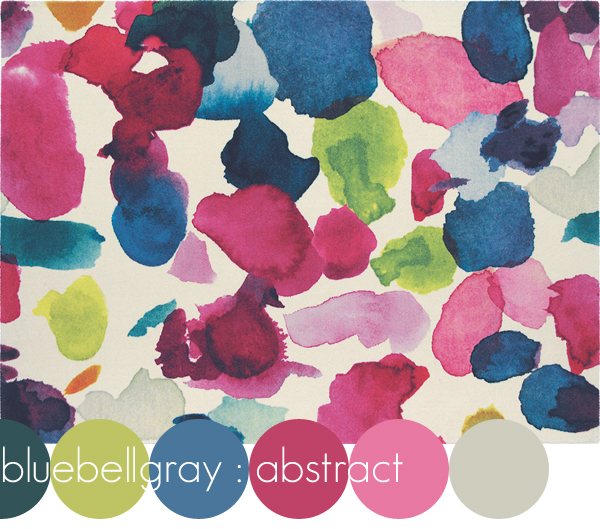 Abstract Rug by Bluebellgray | Emma Lamb
