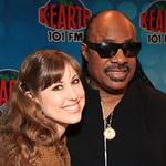Melanie and Stevie Wonder