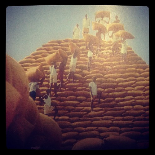 #longing for yesteryears. #nostalgia#nigeria! #thegroundnut#pyramids of the 70s when #nigeria was more than oil and gas. And #kano city was a sight of #wonder. This must have been one of the 7 #manmade #wonders of #africa