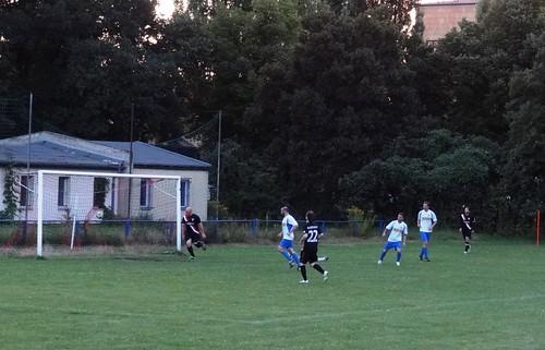 DSC03135 Eintracht Leipzig v VfK Blau-Weiß II, Leipzig Cup at Mariannenpark