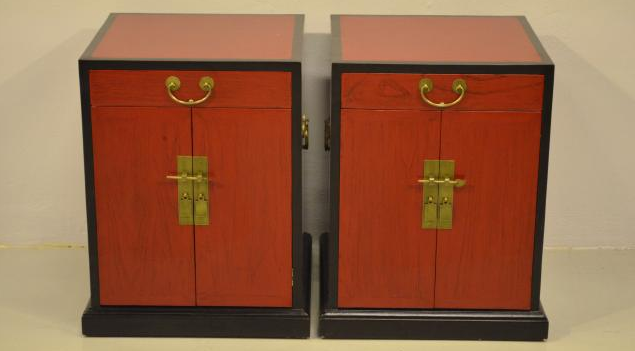 custom made vintage chinese cabinet
