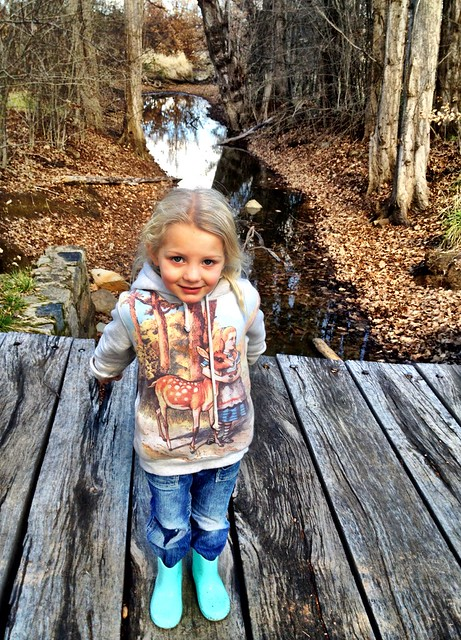 Alice at the creek