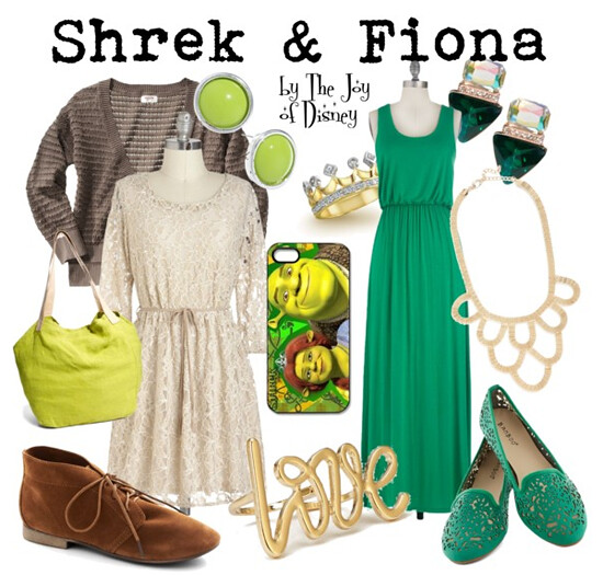 Shrek & Fiona Outfits