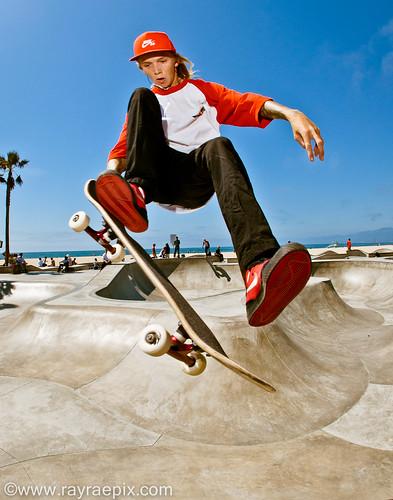 Haden Mckenna 9-13-13 Venice Skatepark