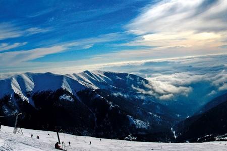 Chopok Juh - lyžovanie ako zrozprávky