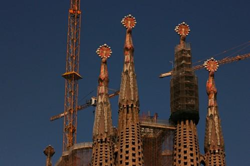Sagrada Familia - towers