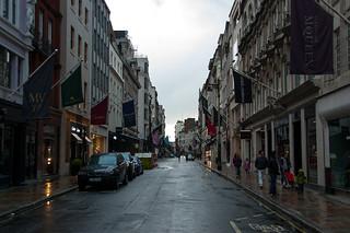 Bond Street, la rue des boutiques de luxe !