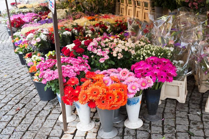 Chợ mùa thu