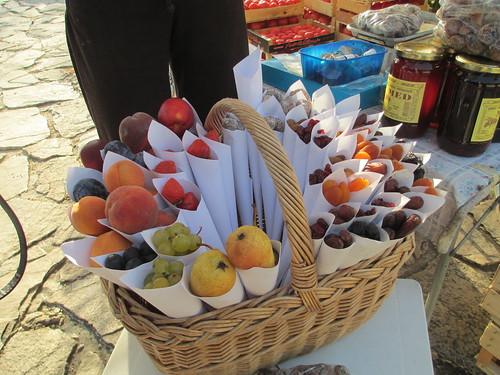 frutta fresca e candita