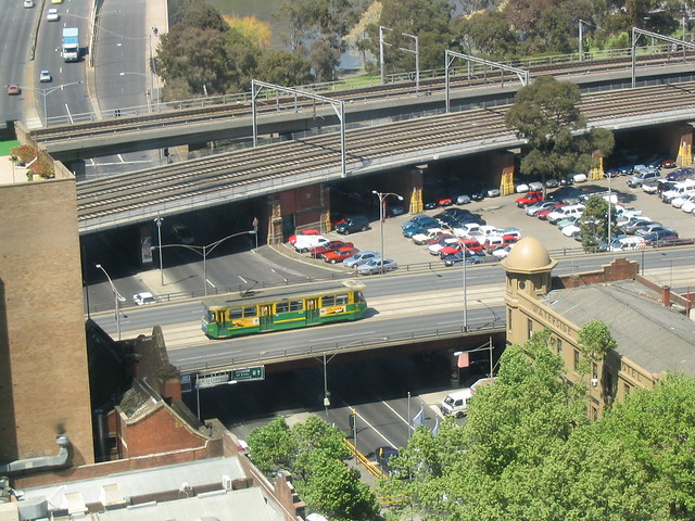 Kings Street overpass (October 2003)