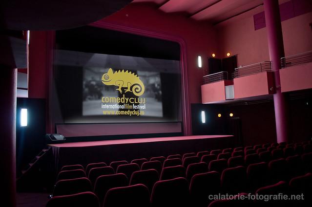 Comedy Cluj. Atmosfera unică a unei săli de cinema, capturată cu Nikon D90 10235813496_526f810a8b_z