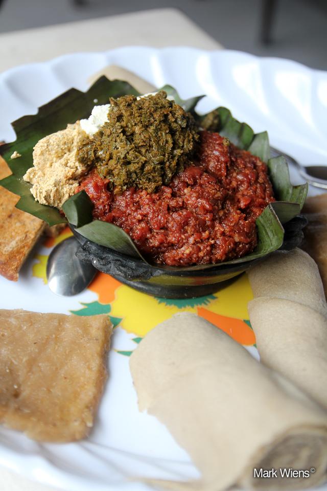 Kitfo in Ethiopia