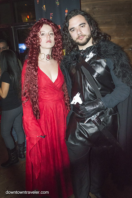NY Comic Con Couples Costume GOT Melisandre Jon Snow