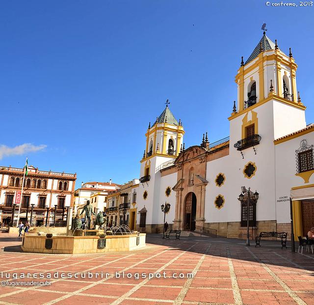 Plaza de Blas Infante (Ronda, Málaga)