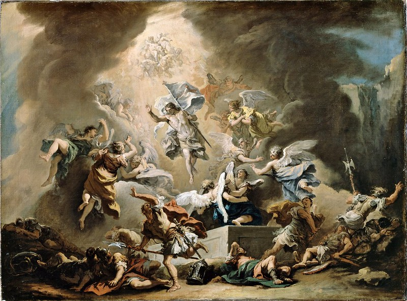 Sebastiano Ricci - The Resurrection (c.1715)