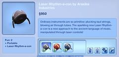 Laser Rhythm-a-con by Arasika Industries