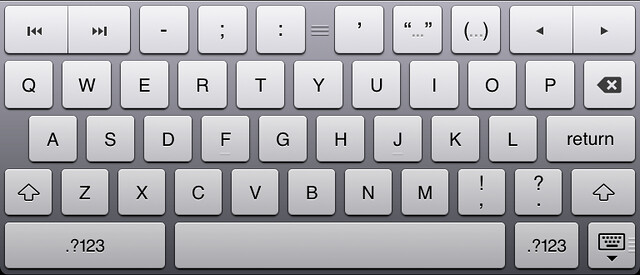 Keyboard iOS ia Writer