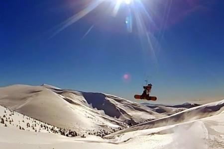 Snowkiting na Ukrajině