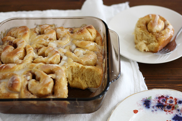 sweet potato-marshmallow cinnamon rolls