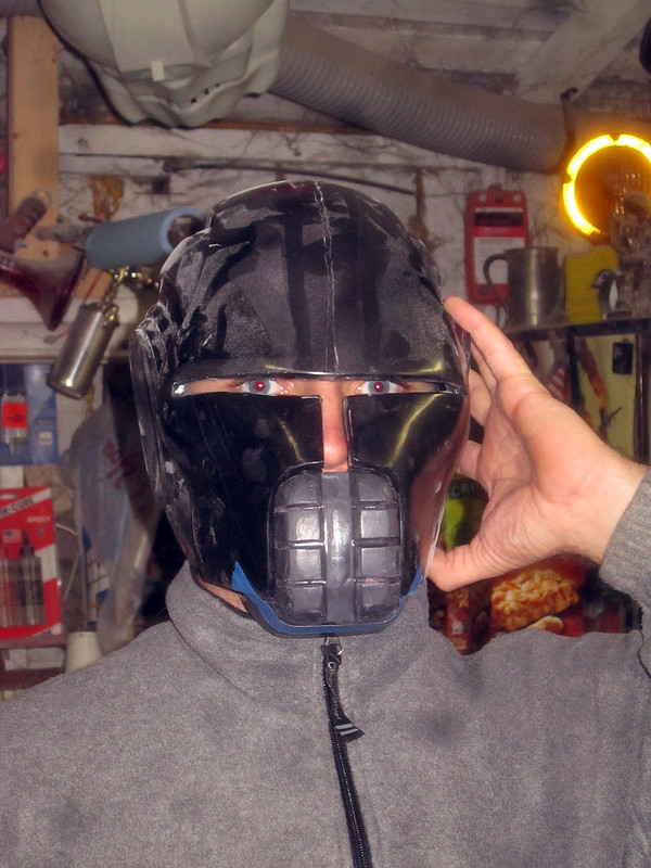 Sith Stalker Chin Test Fit Front